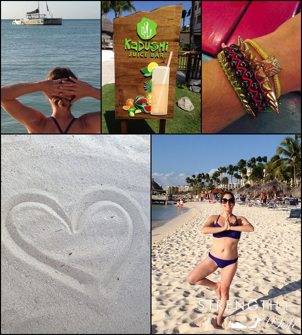 Strength-Sole-Fitness-Aruba-Getaway-Collage